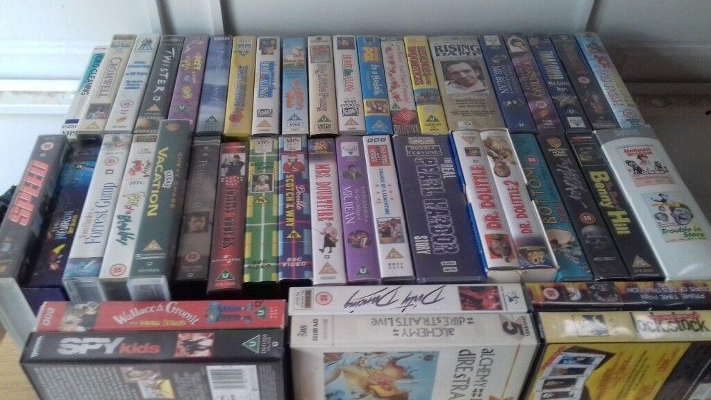 Bulk VHS Original Films 140+ Rare and Classics