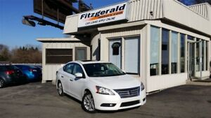 2013 Nissan Sentra 1.8 SL - LEATHER! NAV! BACK-UP CAM!