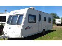 bailey pageant burgundy series 7 fixed bed caravan 2008