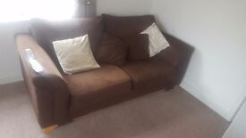 3 and 2 seater sofa's, great condition.