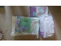 Breast pads, lanolin cream, maternity briefs and mat - all free