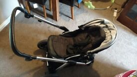 Oyster Max 2 Stroller / 1 Flat Seat / Grey Colour Pack