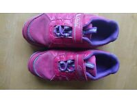 Clarkes girls shoes size 12f