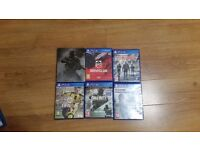 PS4 Playstation 4 Games Call of duty COD Infinite Warfare Fifa 17 The divion and others!!!