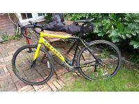 Carrera TDF road racing bike. 16 gears. 51cm Medium frame, excellent condition