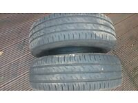 Khumo tyres 185-65-15 loads of tread