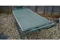 Folding hammock