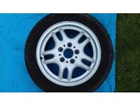 Bmw e36 wheel and tyre