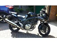 Suzuki SV650S Superb Example. Full service 200 miles ago. New chain and tyres. Long MOT.