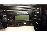 Ford Focus car stereo in black full working order with code