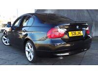 2007 57 BMW 320D SE AUTO DIESEL BLACK FSH (CHEAPER PART EX WELCOME)