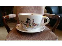 Alice in wonderland, giant tea cup, by Paul Cardew.