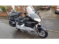 Honda goldwing 1800 with matching D21SE trailer