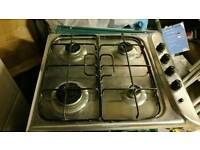 Indesit Gas Hob PIM 640 AS stainless steel
