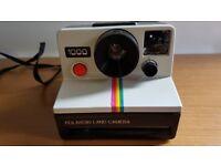 Polaroid 1000 Instant Film Camera with case