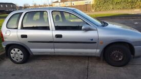 Vauxhall Corsa Great runner only done 4000 miles in last 10 years MOT until July.