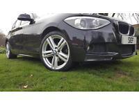 BMW 1 SERIES 120d xDrive M Sport 5dr (black) 2013
