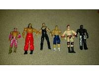 WWE Figures & Belt Bundle
