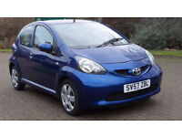 TOYOTA AYGO 1.0 BLUE VVT-I 5d 68 BHP SERVICE RECORD, 1 FORMER OWNER**PART EX WELCOME**