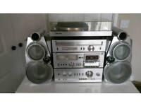 JVC Music system Full set up