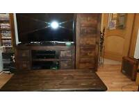 Indian Solid Wood Furniture x3 (Table, TV United and Drawer Unit) Will sell as a package or separate