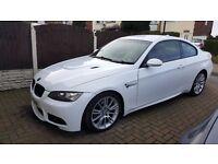 BMW e92 m sport coupe white red leather m3 replica