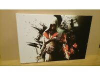 Assassins creed canvas picture for sale