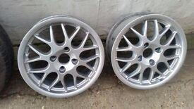 BBS 16 inch Alloy Wheels 4x114.3 pcd