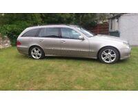 Mercedes E280 cdi V6 3ltr diesel Avantgarde estate full leather interior