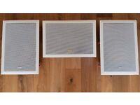 Bowers & Wilkins CWM Cinema Speaker plus 2 x B & W CWM 800 speakers.