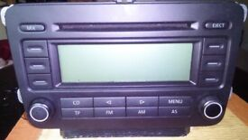 vw rcd 300 stereo with CODE good condition