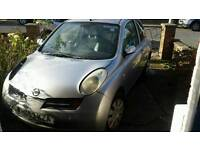 Nissan micra breaking for part.