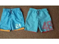 Boys Swimming Shorts x 2 (6-7yrs & 7-8yrs)