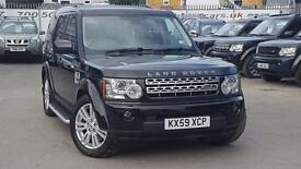 LAND ROVER DISCOVERY 4 TDV6 HSE SANTORINI BLACK GOOD SPEC REAL VALUE (black) 2009