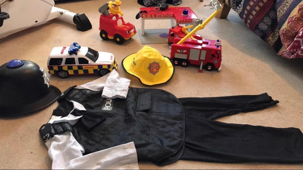 Fireman/police man bundle