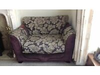 £130 ono 4+2 seater sofa used but good condition