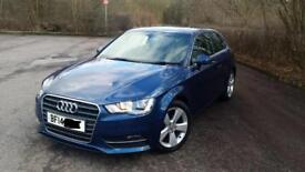 Audi A3 sport 2014 low miles 27,000 full Audi service history