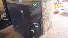 i5 Gaming PC, 8GB DDR3 RAM, 500GB HD, Geforce GT 710 2GB, Gaming Case, Office, Photoshop CS6, Win 10