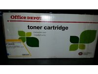Toner Cartridge Office Depot. HP Q6001A. Colour: Cyan.