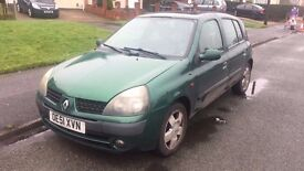 2002 Renault Clio - AUTOMATIC 5 Door with Low Mileage! 07595976330