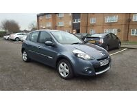 2009 Renault Clio 1.5 dci diesel 5 doors, full service history, 1 year MOT, HPI Clear