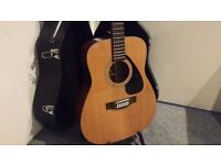 Yamaha FG412-12 String Electro Acoustic Guitar & Case - Collection Only.
