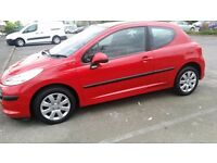 2007 Peugeot 207 S 3 Door 1.4 Hatchback, S/H, Black/Red Interior, Good Condition, **L@@k**