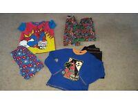 Boys pyjamas 7-8years pjs