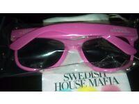 New 2012 Wayfarer Sunglasses Pink Swedish House Mafia Group
