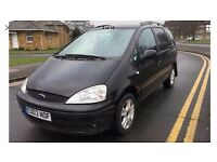 Ford Galaxy Ghia 2.3 Auto 2003 Black,HPI Clear,105k,Decent Service History,New 12 months MOT,£1295