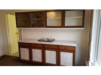 Kitchen Cupboard/Sideboard and Wall Mounted Units