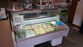 Trimco Serve Over Counter Commercial. 1500mm Wide, 820mm Deep & 1170mm High. Good Condition.