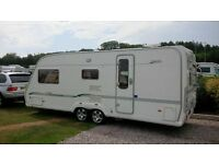 2005 Bessacarr Cameo 550 GL 3 Berth Caravan End Wash Room Fixed Dinette