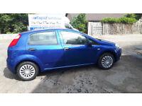 2007 Fiat Punto (1 years MOT)